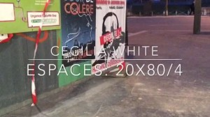 espaces 20x80/4_1_still from video_cecilia white 2014
